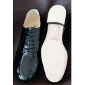 FRANCESINA - Vernice Nero - leather sole