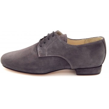 DERBY Anthracite suede