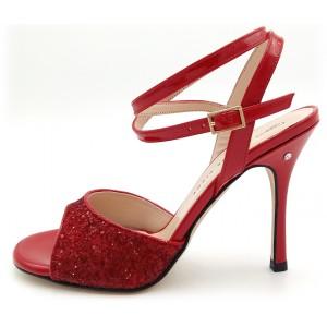 CHERIE Vernice / Glitter Rosso