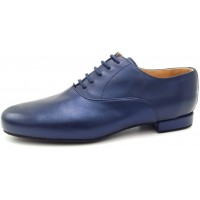 FRANCESINA - Blue Pearlised Leather