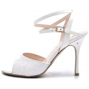 CHANEL DUS - Glitter bianca