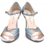DAISY Glitter waves multicolor argento