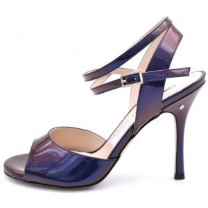 CHANTAL DUS - Smalto viola/blu