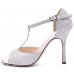 FEDORA - Silver Glitter Lamé