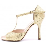 FEDORA - Gold Glitter Lamé